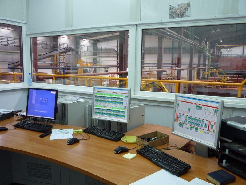 Производство кирпича Konigstein Автоматизированная система управления